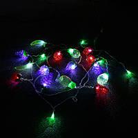KCASA CSL-2 5M 20LED Gradening String Light Party Patio Свадебное Декоративный красочный фруктовый свет