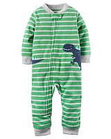 Флисовый комбинезон с динозавром Carter's для мальчика