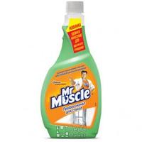 Mистер Мускул средство для стекла Профессионал Утренняя роса (сменная бутылка)