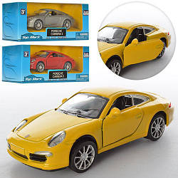 Машинка TOP 305 (96шт) металл, инер-я, 1:38,12см, открываются двери,3цв,в кор-ке,16-7,5-7см
