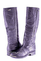 Сапоги кожаные  женские V 829