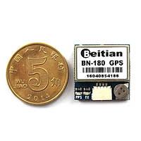 Самый маленький мини двойной GLONASS+GPS BN-180 Микро двойная GPS Антенна Модуль UART TTL для CC3D F3 РУ Дрон