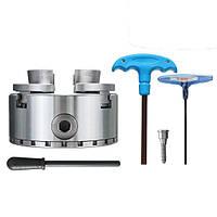 4 дюймов Точность 4 Челюсти Самоцентрирующийся спиральный токарный патрон 100 мм Деревообрабатывающий патрон для прокрутки