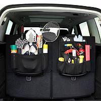 Авто Seat Back Storage Сумка SUV Trunk Набор Сувениры Кожа PU Многофункциональное устройство хранения Сумка