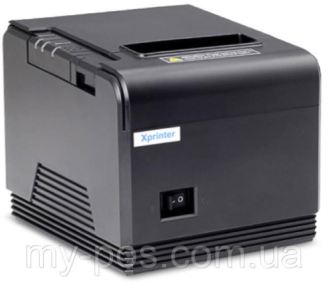 Чековый принтер с автообрезкой Xprinter XP-Q260 (USB+COM+LAN)