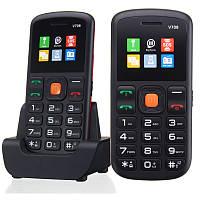 (Английский Русский Испанский Итальянский язык) UNIWA V708 1.77 дюймов 800mAh Зарядное устройство Мобильный телефон