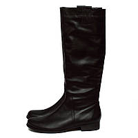 Последние размеры 35, 36 (37)!!! Демисезонные женские сапоги без каблука, натуральная кожа