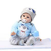NPK DOLL 22 Reborn Силиконовый Реалистичная новорожденная игрушка ручной работы Lifelike Baby Dolls
