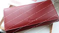 Модный женский кошелек Cossroll натуральная кожа. Фирменный на подарок