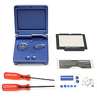 Замена корпуса корпуса для Nintendo Game Boy Advance SP GBA SP Console Blue