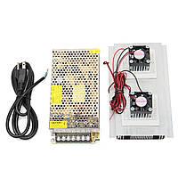 120W 12V 15A DIY Полупроводниковый электронный холодильник Термоэлектрическая система охлаждения Двойной вентилятор