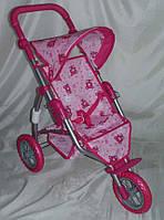 Детская коляска для куклы прогулочная Melogo 9354