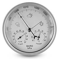 132 мм Настенный висячий портативный термометр влажности Барометр Weather Meter