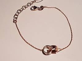 Золотий браслет. Артикул 323124