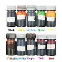 10Pcs 10 цветов эпоксидная смола красящая смола красящая смола пигментная смесь цвета DIY художественные ремесла