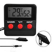 Цифровой Термометр измеритель влажности гигрометра Зонд для яйца Инкубатор для домашних животных