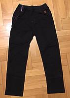Котоновые брюки для мальчиков Grace оптом ,98-128 рр.