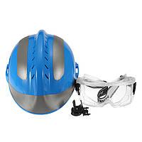Спасательный шлем FireFighter Защитный Очки Китай CAPF Safety Protector F2 Синий