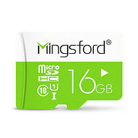 Mingsford Colorful Edition 16GB Class 10 Micro SD TF Memory Card