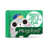 Mingsford Seal Edition 64GB U1 Карта памяти Micro SD TF