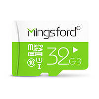 Mingsford Colorful Edition 32GB Класс 10 Micro SD TF Memory Card