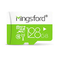 Mingsford Colorful Edition 128GB Class 10 Micro SD TF Memory Card