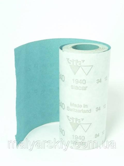 Наждачний папір у рулоні на суху SIACAR 115мм*50м P180 SIA