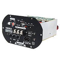 V608A Высокопроизводительный бас 80 Вт Авто Hi-Fi Сабвуфер Усилитель Модуль платы TF USB 110V-220V