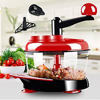 KCASA KC-FPM20 Многофункциональный овощной измельчитель Кухонный комбайн Кухонный ручной Фруктовый измельчитель Режущий смеситель Салатный ча