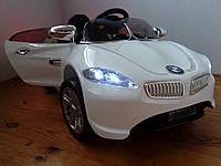 Лицензионный Детский электромобиль КХ1336 BMW, Ева резина, Амортизаторы, ключ, дитячий електромобіль