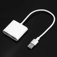 IDragon-B001 USB to HD 1080P HD Дисплей Dongle Палка для Iphone с удлинительным кабелем