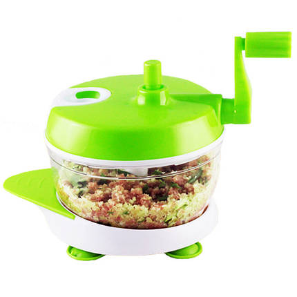 KCASA KC-FPM18 Многофункциональный кухонный ручной кухонный комбайн Бытовая мясная дробилка Овощной измельчитель говядины Quick Shredder Cutter яйца, фото 2
