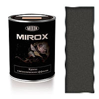 Краска термостойкая с металлическим эффектом МИРОКС 7010. 0.75л