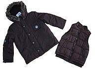 Куртка трансформер 3 в 1 для мальчика 122см 7лет Sergent Major Франция