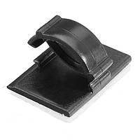 Mini Авто Провод Галстук Прямоугольный шнур Держатель для кабеля Держатель для крепления Зажим Самоклеящийся