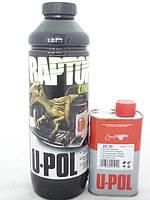 RLB/1 Міцне захисне покриття RAPTOR 0,75л+0,25л S2030(комплект) ЧОРНИЙ 1л  U-POL