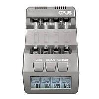 Opus BT-C700 12V LCD Дисплей 4slots AA AAA NiMH NiCd перезаряжаемый Батарея Зарядное устройство