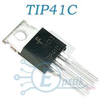 TIP41C, Транзистор биполярный, NPN 100В 6А, TO-220
