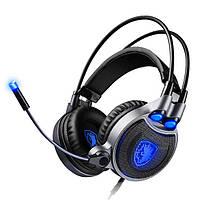 SADES R1 Виртуальный 7.1 Вибрационный звук объемного звучания Уши Headset Headphone