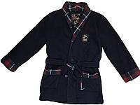 Теплый флисовый халат для мальчика 122см 6-7лет Sergent Major Франция