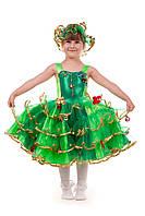 Детский костюм Елочка «Золото»
