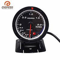 2,5-дюймовый 60 мм LED Turbo Boost Gauge Вакуумный пресс Датчик давления Набор измерителей для Авто Грузовик