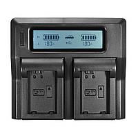 LCD Dual Батарея Зарядное устройство для Sony NP-FW50 A7 RS II A6300 A5100 A6000 RX10 NEX 6