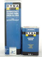 Лак 2K високоглянцевий 5000 Clear HS High Glass  5л+2,5л DYNACOAT