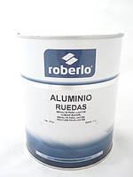 Фарба для дисків АЛЮМІНІЙ, (130-150% розчинника)  1л  ROBERLO