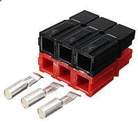 40Pcs Андерсон Powerpole 600V 3A Электрический Коннектор Клеммные разъемы Красный + Черный