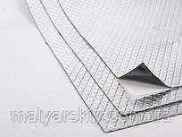 Лист звукоізоляційний з шаром алюмінію 500*500мм  NCP