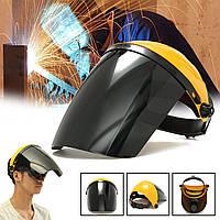 Регулируемый сварочный шлем ARC TIG MIG Welding Объектив Шлифовка Маска + Защитные очки