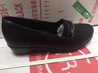 Женские туфли черные 36-41TRIO SHOES