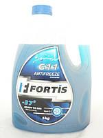 Антифриз готовий -37  СИНІЙ G11 FORTIS 5л